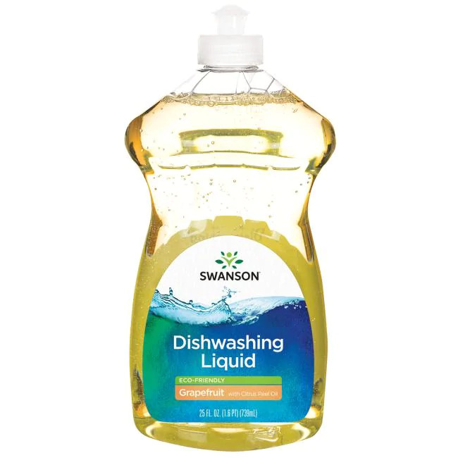 Dishwashing Liquid - Eco-Friendly -Grapefruit with Citrus Peel Oil