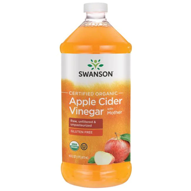 Certified Organic Apple Cider Vinegar with Mother