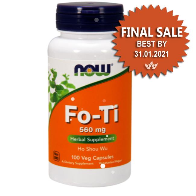 Fo-Ti 560 mg Veg Capsules