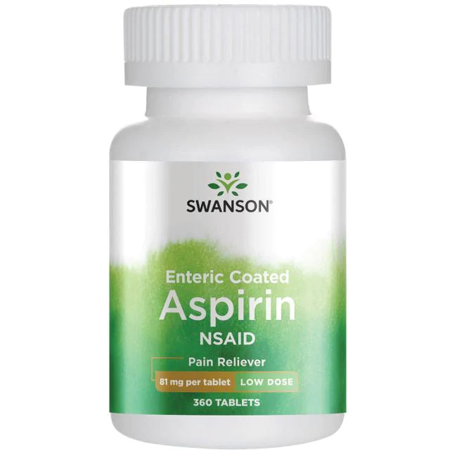 Enteric Coated Aspirin NSAID - Low Dose