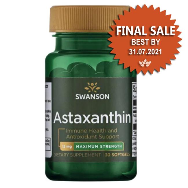 Astaxanthin - Maximum Strength