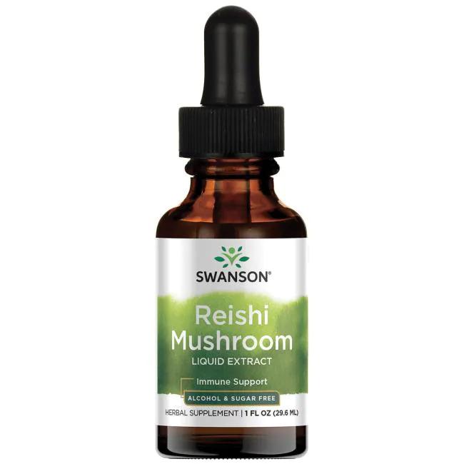 Reishi Mushroom Liquid Extract (Alcohol- & Sugar-Free)